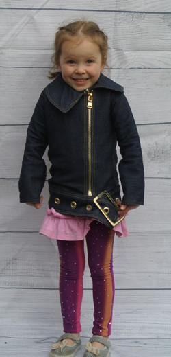 Denim Jacket With Buckle