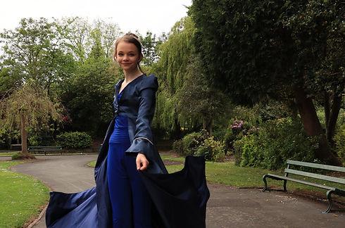 Royal Blue Jumpsuit And Navy Bridal_edit