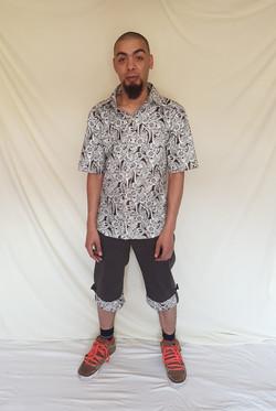 Short Sleeved Shirt and Shorts