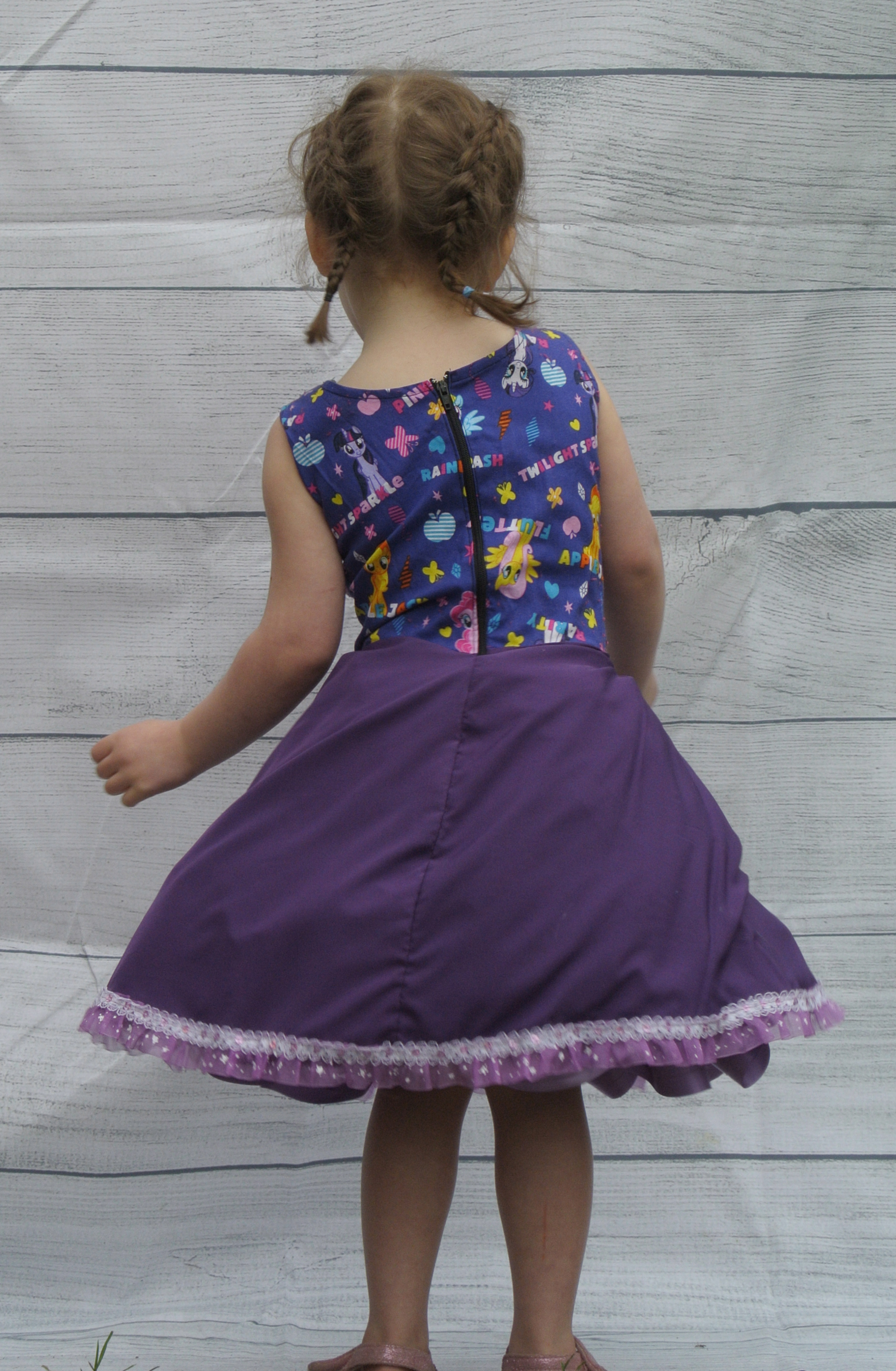 Purple My Little Pony Dress