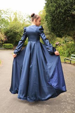 Royal Blue Jumpsuit And Navy Bridal
