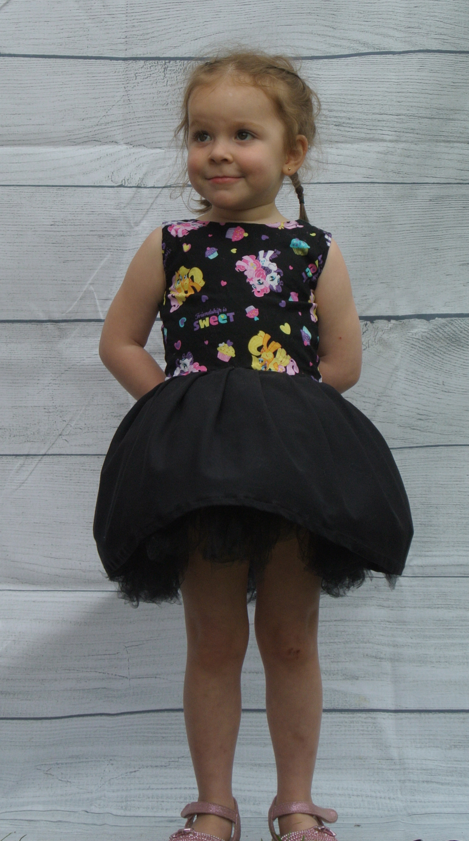 Black My Litte Pony Dress