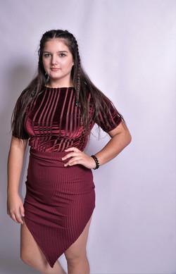 V-Skirt and Top