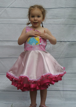 One Shoulder Princess Party Dress