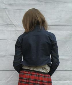 Patch Work Denim Jacket