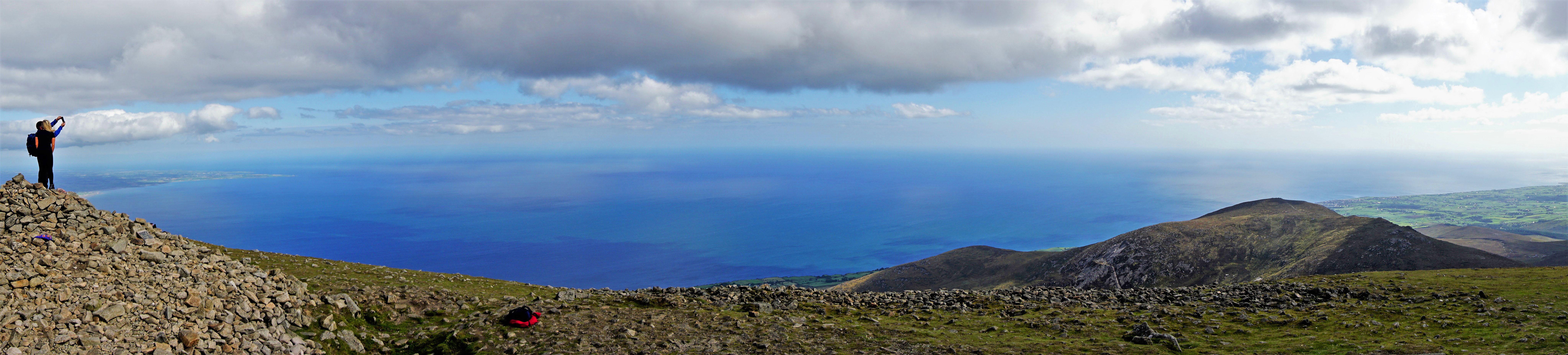 Slieve Donard peak.
