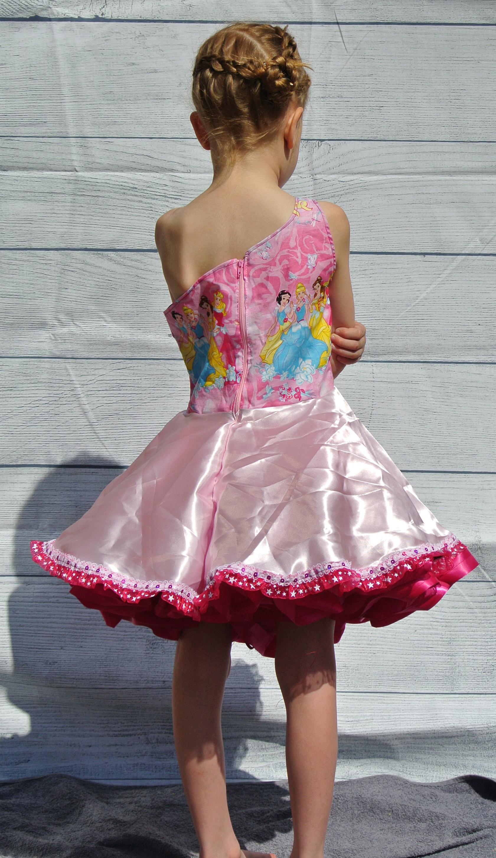 One Shoulder Princess Party Dress