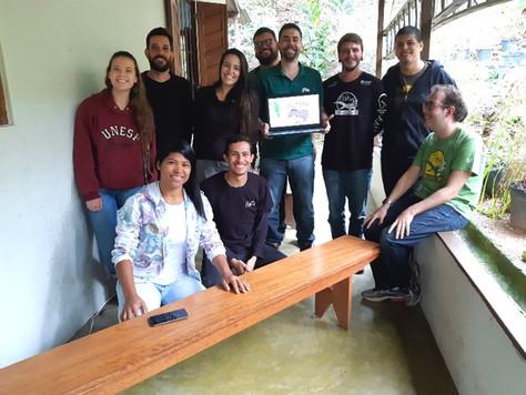 Equipe do Estágio de Inverno Recebe Capacitação do Projeto Pró-Tapir
