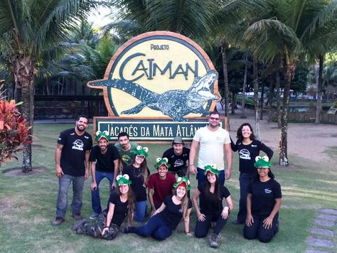 Mais Um Dia de Educação Ambiental com a Equipe de Estágio de Inverno do Instituto Marcos Daniel