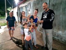 Projeto Caiman Resgata Mais Um Jacaré em Cidade Continental, na Serra - ES