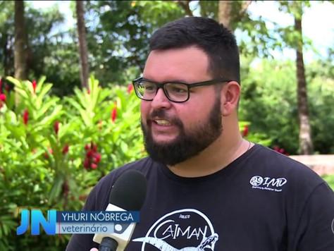 Projeto Caiman é Matéria no Jornal Nacional