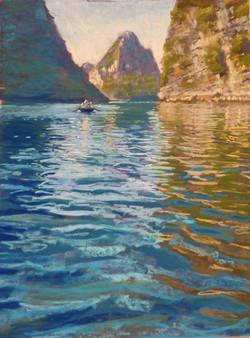 'Reflections on Halong Bay'