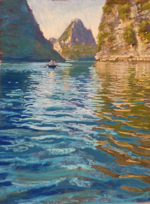 'Reflections on Halong Bay'