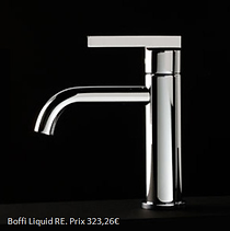 Mitigeur lavabo design
