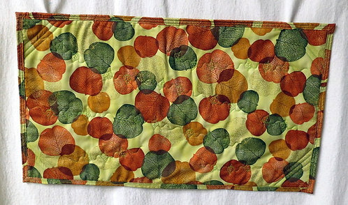 211Autumn Leaves Table Runner