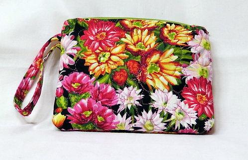 473, 468 Wristlet & ID Holder Set, Floral Pink