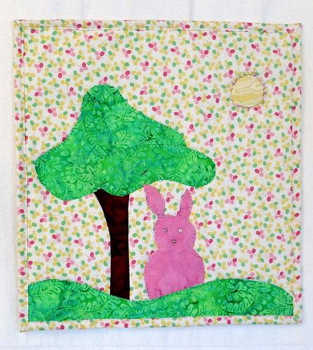 520 Perky Bunny Wall Hanging