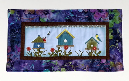 555 Wallhanging, Birdhouses