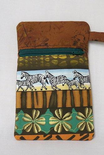 321 Zip Pouch, Zebra