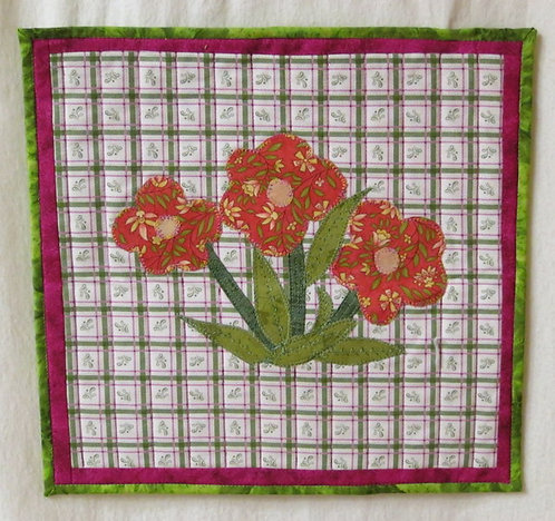 407 3 Flower Wall Hanging