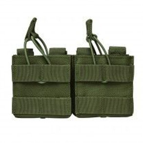 VISM® by NcSTAR® AR10/M1A/FAL .308 DUAL MAGAZINE POUCH - GREEN
