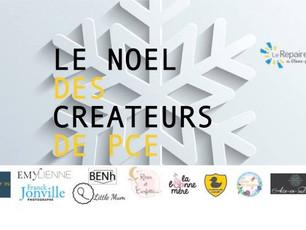 Retrouvez nous le mardi 5 décembre sur le marché de noël des créateurs !
