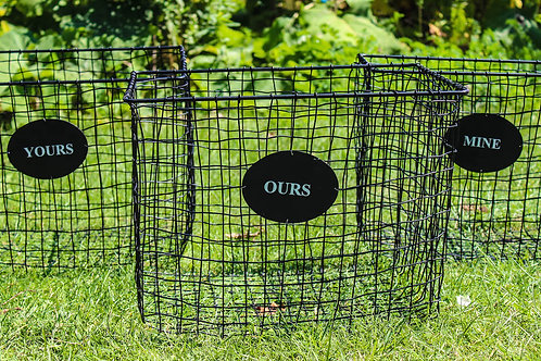 Yours-Mine-Ours Storage Baskets