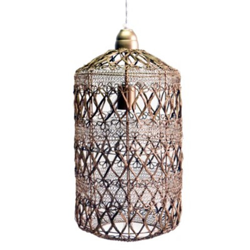 Woven Elements Small Pendant Light