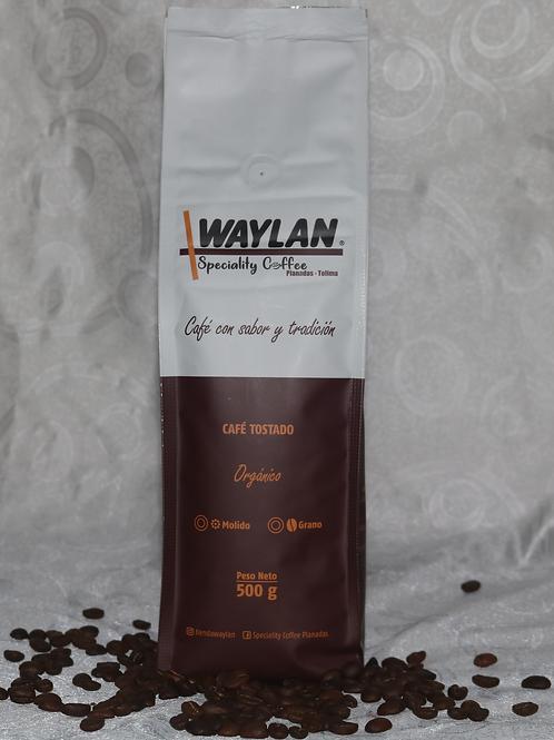 Café tostado y molido 500gr