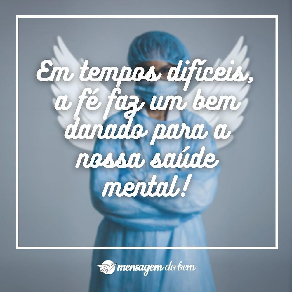 Em tempos difíceis, a fé faz um bem danado para a nossa saúde mental!