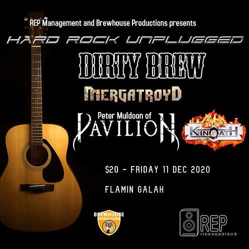 Hard Rock Unplugged -  Friday 11 Dec Flamin Galah