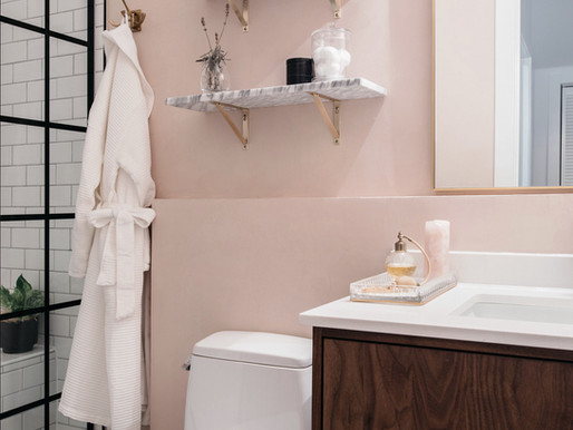Parisian Chic Bathroom Reveal