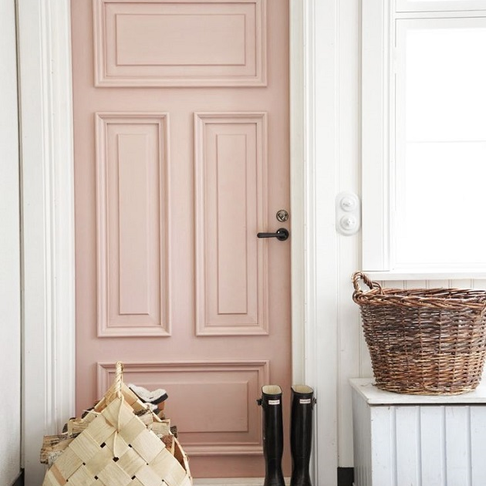 Think Pink - 10 Blushy Hues for Your Doors