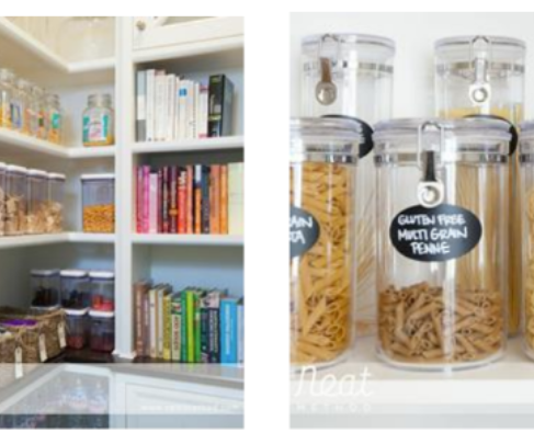 Kitchen Organization 101 (plus some decorating tips)