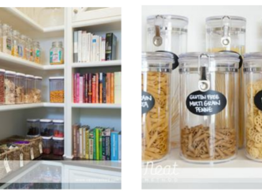 Kitchen Organization 101 (plus some decorating tips)
