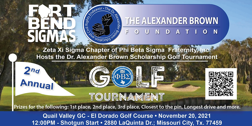 2nd Annual Dr. Alexander Brown Foundation