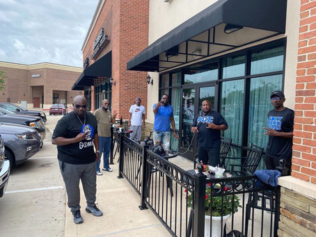 FORT BEND SIGMAS SUPPORTS IMPACTED BUSINESSES