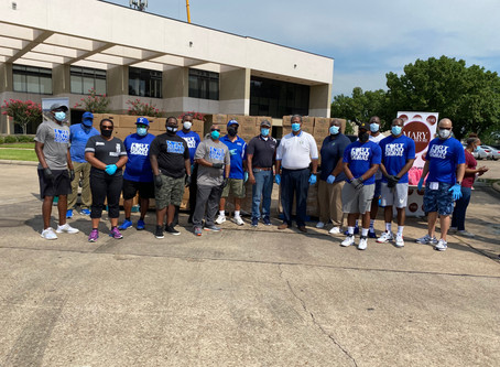 FORT BEND SIGMAS SERVING THE COMMUNITY