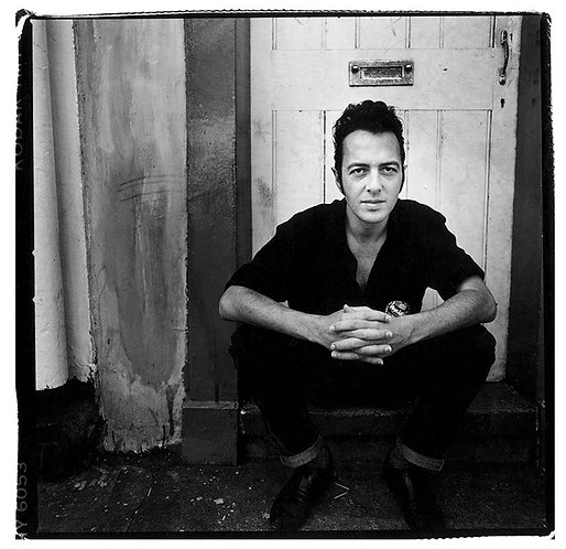 Joe Strummer. London, UK. 1989