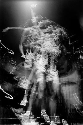 Tina Turner - Live/Multiple Image Honka Monka Club, NYC 1970