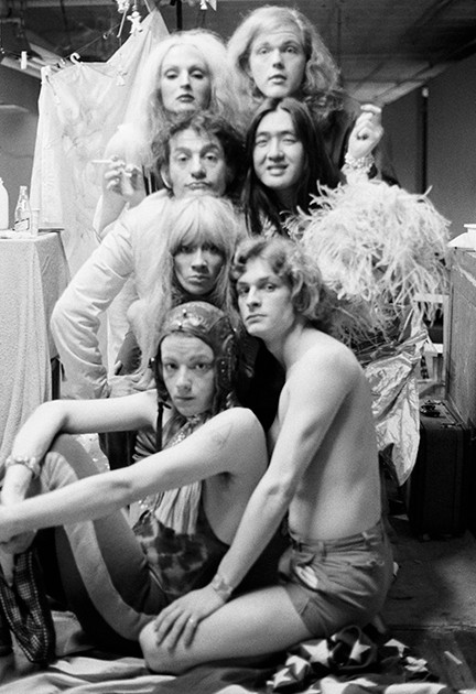 """Jackie Curtis, Candy Darling & Friends. """"Vain Victory"""" Rehearsal, NYC 1971"""