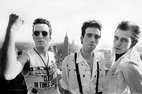 The Clash at Top of The Rock Top of The Rock, NYC 1981
