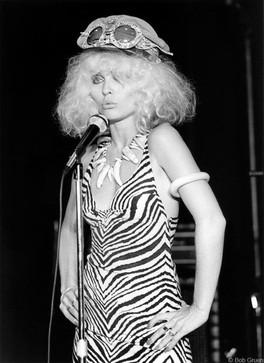 Debbie Harry - Tiger Dress Max's Kansas City, NYC 1976