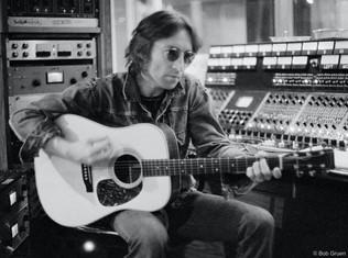 John Lennon recording. NYC, 1974