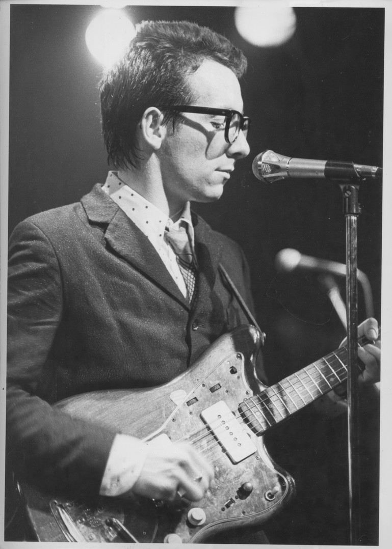 Elvis Costello. NYC, 1976