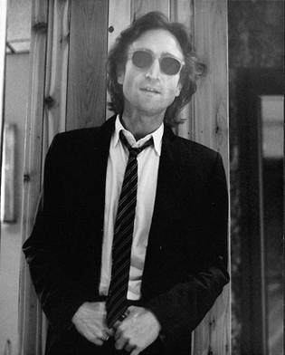 John Lennon - Standing/Dark Glasses The Hit Factory, NYC 1980
