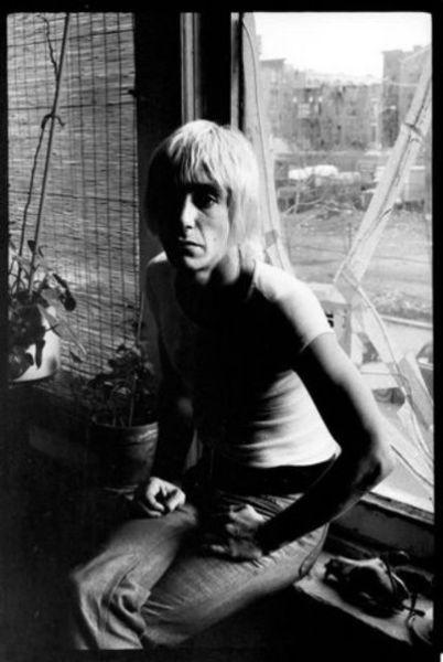 Iggy Pop. New York, 1976