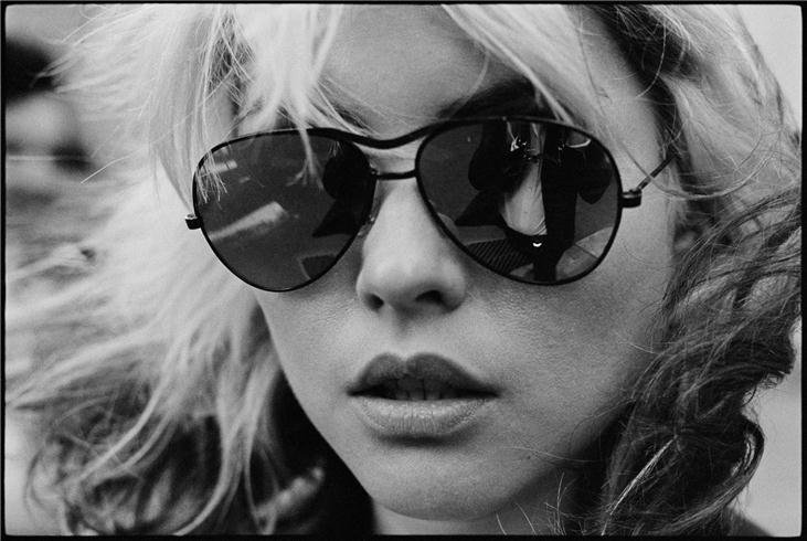 "Debbie Harry ""Shades"". NYC, 1977"