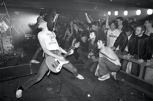 The Ramones at Eric's Club by Ian Dickson. Liverpool, May-19th - 1977