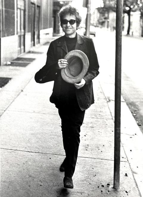 Bob Dylan. Philadelphia, 1964